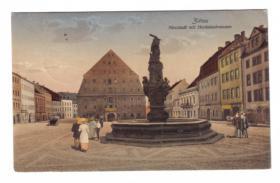 02763  Zittau Feldpost 1915 vom Herkules