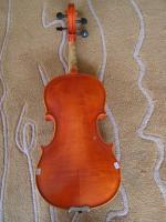 Foto 3 1/2 Geige, schöne Manufaktur, rötlicher Lack
