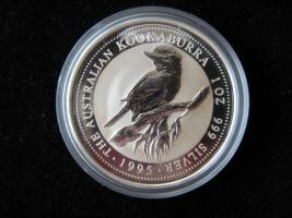 1 Dollar Australien Kookaburra Vogel 1995