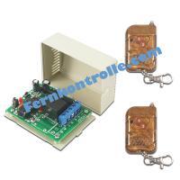 1 Kanal Funk Schalter / Fernbedienung DC 12V 24V 9V für Tür Rolladen Licht
