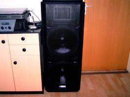 1 Paar 4 Acoustic PA Lautsprecher 1000 Watt Rms 2000 Watt Gesamtleistung