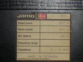 Foto 2 1 Paar Jamo E 400 Boxen sehr guter Zustand