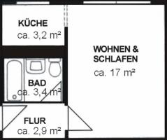 1 RW Spreewalder Str.16 m. K�che (ohne Ger�te) gratis!