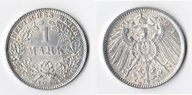 1 Reichsmark 1915