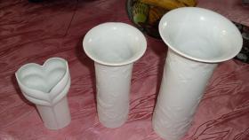 1 Rosenthal , 2 Kaiser Vasen Vase