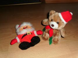 1 Weihnachtsmann + 1 Weihnachtsteddy