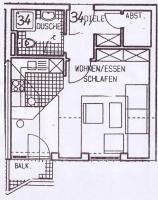 1 ZKB DG Wohnung