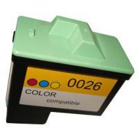 1 x Refillte Tintenpatrone für Lexmark - ersetzt Lex 26 - Tintenpatrone