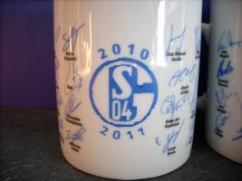 Foto 2 1 x Schalke 04 Tasse, Neu 2010/2011