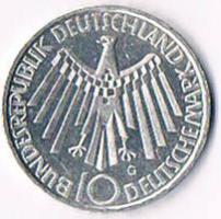 10 Deutsche Mark 1972 G !