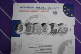 Foto 2 10 EUR Silber-Gedenkmünzenset 2009,2010,2011 in PP