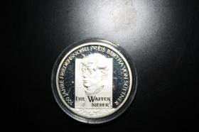 10 EUR Silbermünze in PP 2005 B.v Suttner