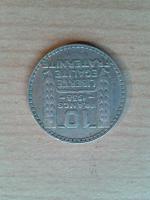 10 Francs 1938 Liberte Egalite Fraternite