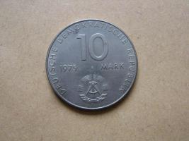 Foto 2 10 Mark DDR Gedenkmünze 1973 Weltfestspiele