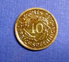 10 Reichspfennig Weimarer Rep. / 3. Reich
