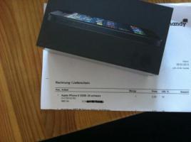 Foto 2 10 mal Iphone 5 32gb in schwarz und weiss NEU und OVP mit Rechnung, ohne Simlock