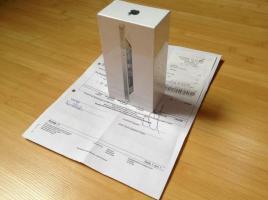 Foto 3 10 mal Iphone 5 32gb in schwarz und weiss NEU und OVP mit Rechnung, ohne Simlock