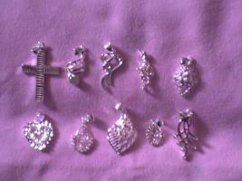 10 neue Silberanhänger mit Stempelung 925