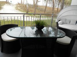 10 strandnahe Ferienwohnungen Insel Rügen, WLAN, Fahrräder, Terrasse u. Garten.