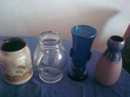 10 verschieden Vasen ! alle wie neu!