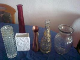 Foto 2 10 verschieden Vasen ! alle wie neu!