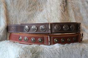 Foto 2 100% Handgemachte Halsbänder und Leinen für Hunde