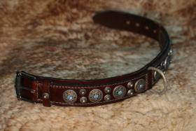 Foto 3 100% Handgemachte Halsbänder und Leinen für Hunde