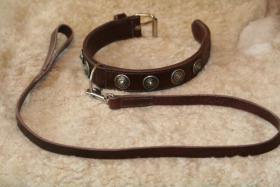 Foto 6 100% Handgemachte Halsbänder und Leinen für Hunde