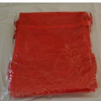 Foto 2 100 Organzasäckchen 10 x 8 cm braun, creme, rosa, oder burgund