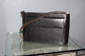 100% Original & Neuwertig Vorführstück Louis Vuitton Tasche Allston Mat Cuir