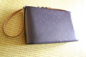 Foto 2 100% Original & Neuwertig Vorführstück Louis Vuitton Tasche Allston Mat Cuir