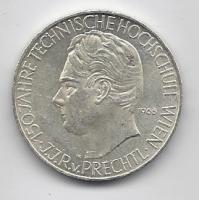 100 Stück 25 Schilling Münzen in Silber