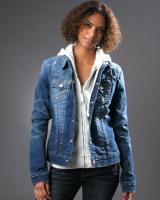 100 true religion jeans jacke damen denim jimmy von privat. Black Bedroom Furniture Sets. Home Design Ideas
