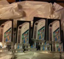 10x Apple Iphone 4 16GB Weiss ohne simlock