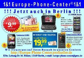 1&1 Europe-Phone-Center® 1&1