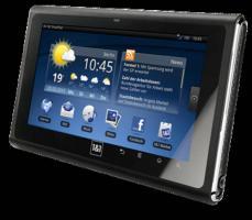 1&1 SmartPad 1GB, Wi-Fi, 17,8 cm (7 Zoll) - Schwarz i. OVP