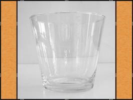 11 x Vase, Pflanzgefäß, Windlicht, Glasgefäß – konisch - 2 Größen