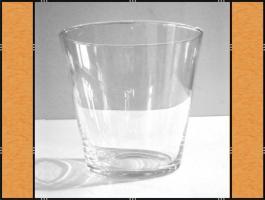 Foto 2 11 x Vase, Pflanzgefäß, Windlicht, Glasgefäß – konisch - 2 Größen