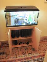 Foto 2 112 L Aquarium mit Unterschrank und viel Zubehör