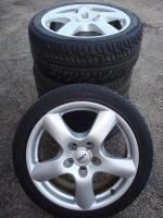 Foto 3 118 ''Rial Felgen Audi A4 A5 S5 Q5 A7 Stecker 5x112-Set (320)  Ich habe eine Reihe Gebrauchte Rial Felgen mit vernünftigen Reifen 18 Zoll Legen 5x112. ein Reifen muss die Felgen ersetzt werden Benutzerspurensporen, hier und da einige Schäden.  Hinweis ...