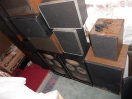 Foto 2 12 Lautsprecher Boxen zusammen 50€