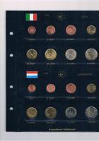 Foto 3 12 vollständige Euro Kursmünzensätze im Album ! !