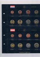 Foto 4 12 vollständige Euro Kursmünzensätze im Album ! !