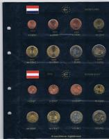 Foto 5 12 vollständige Euro Kursmünzensätze im Album ! !