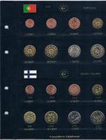 Foto 6 12 vollständige Euro Kursmünzensätze im Album ! !