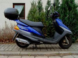 125er Yamaha Roller Cygnus R In Nordhausen Riemen Blau