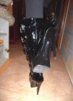 139 Gothic Plateau Stiefel  Domina . Sonderpreis!!
