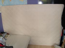 140x200 cm Hartschaummatze mit Sommer- und Winterseite