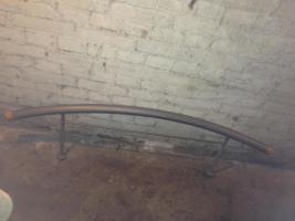 Foto 3 140x200cm Bett Metall Lochblech mit Lattenrost & Matratze