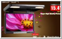 15,4'' Zoll LCD TFT Deckenmonitor Flipdown Monitor